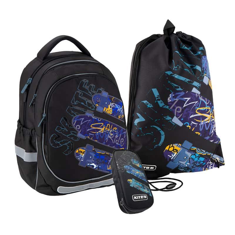 Школьный набор Kite.Ортопедический рюкзак пенал сумка SET_K20-700M-1