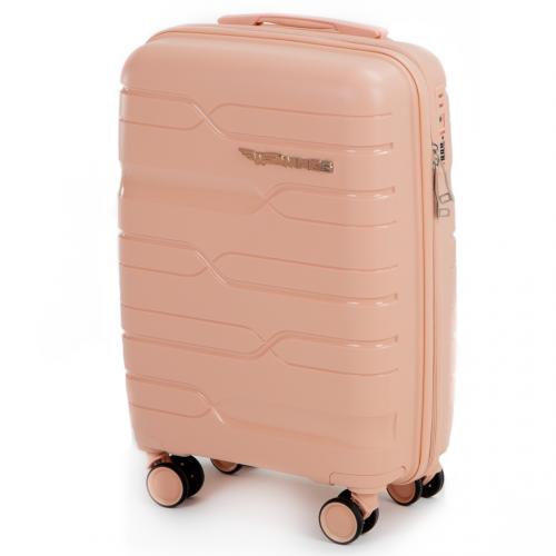 Маленький чемодан для ручной клади WINGS PP-08 S PEACH PINK! ДЛЯ 7-10 кг!