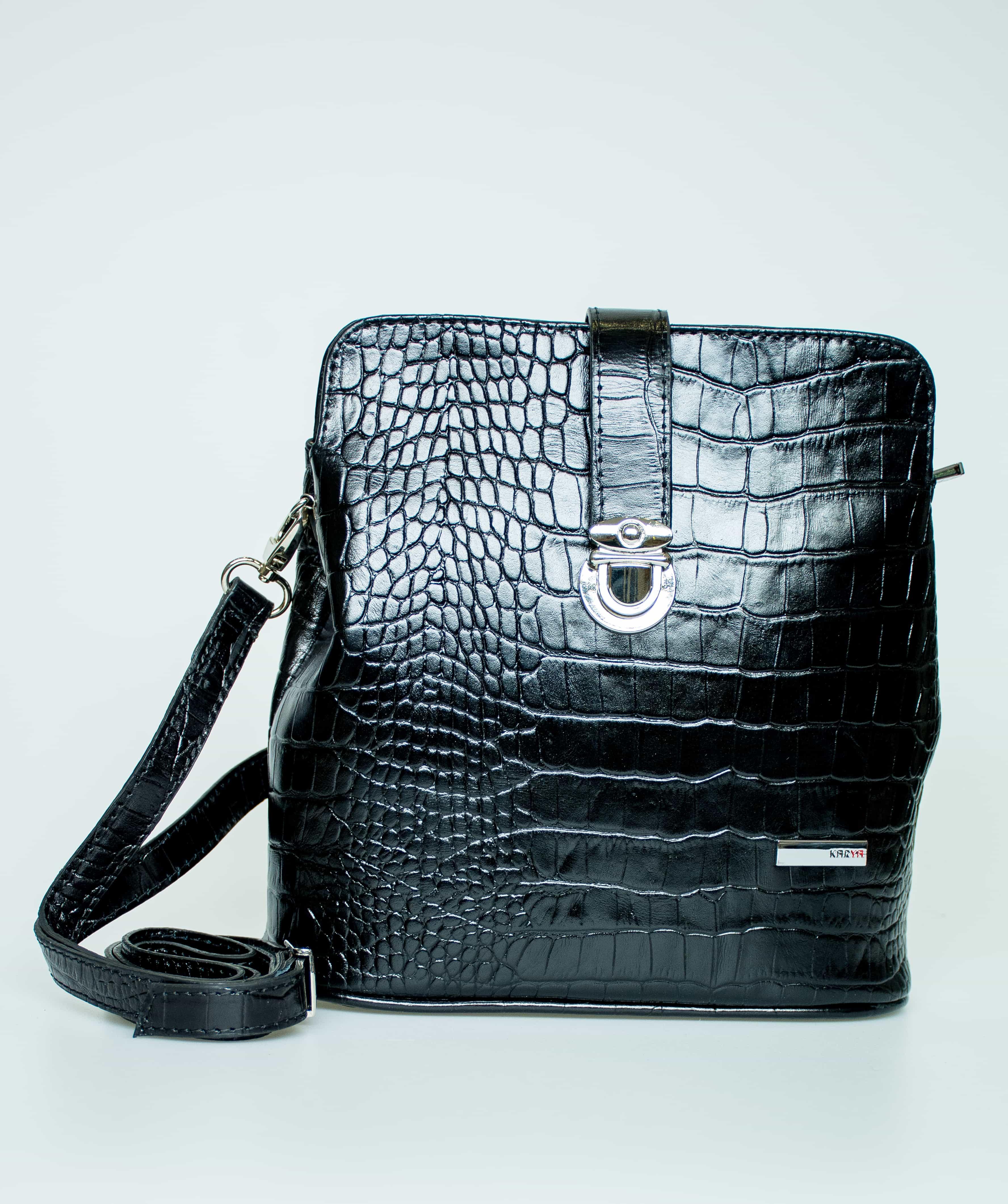 Женская кожаная сумка KARYA. 0380-53