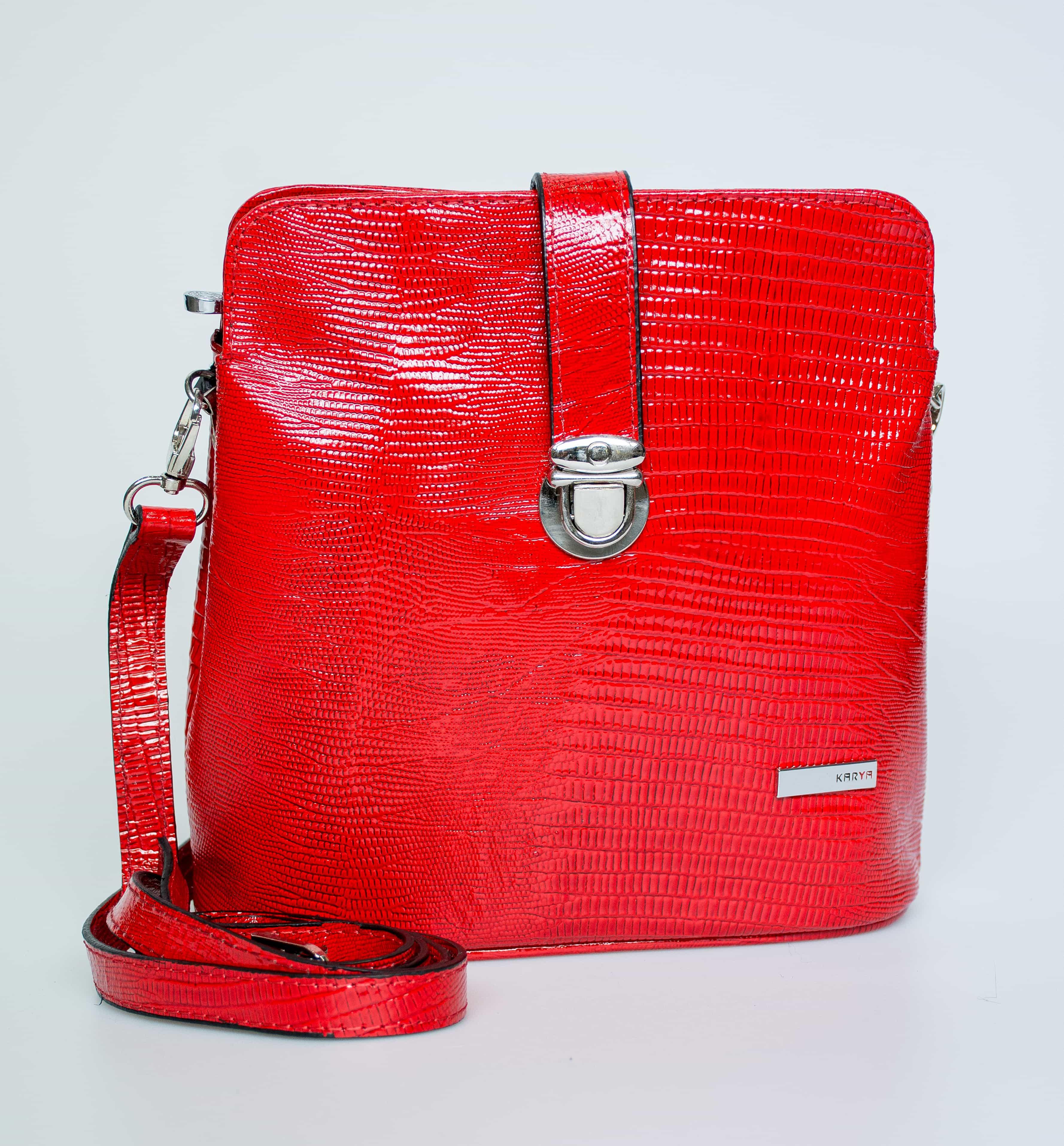 Женская кожаная сумка KARYA. 0380-074
