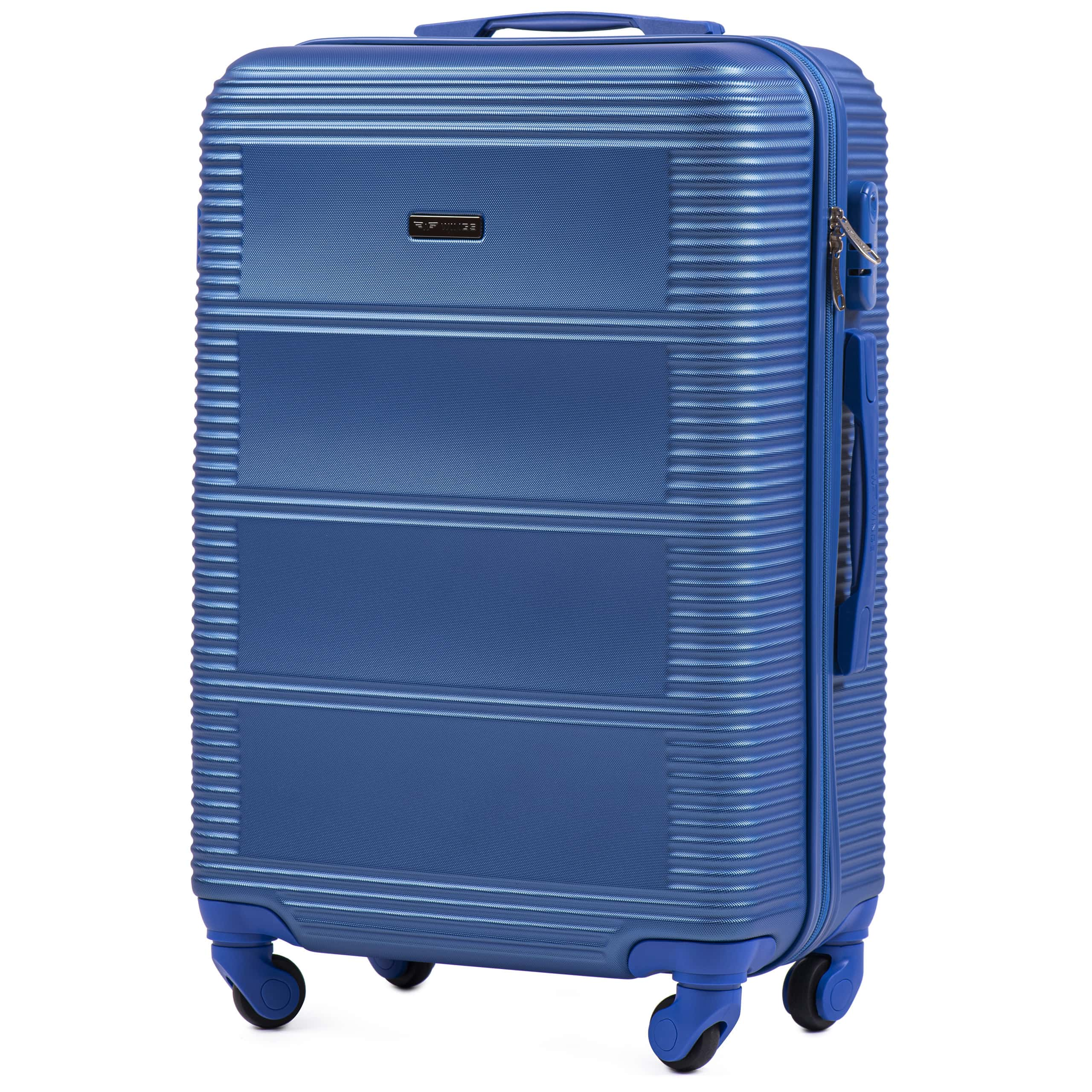Чемодан Ударостойкий ! Средний из поликарбоната WINGS K203 M ELECTRO Для багажа ,до 18 кг