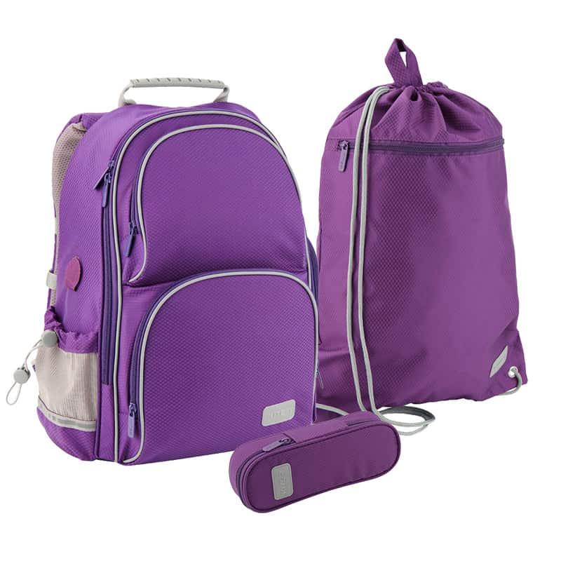 Школьный набор Kite.Ортопедический рюкзак пенал сумка SET_K19-702M-2