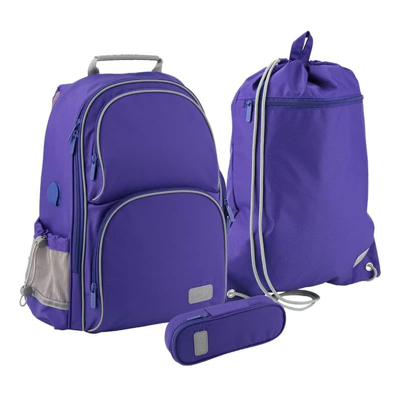 Школьный набор Kite.Ортопедический рюкзак пенал сумка SET_K19-702M-3