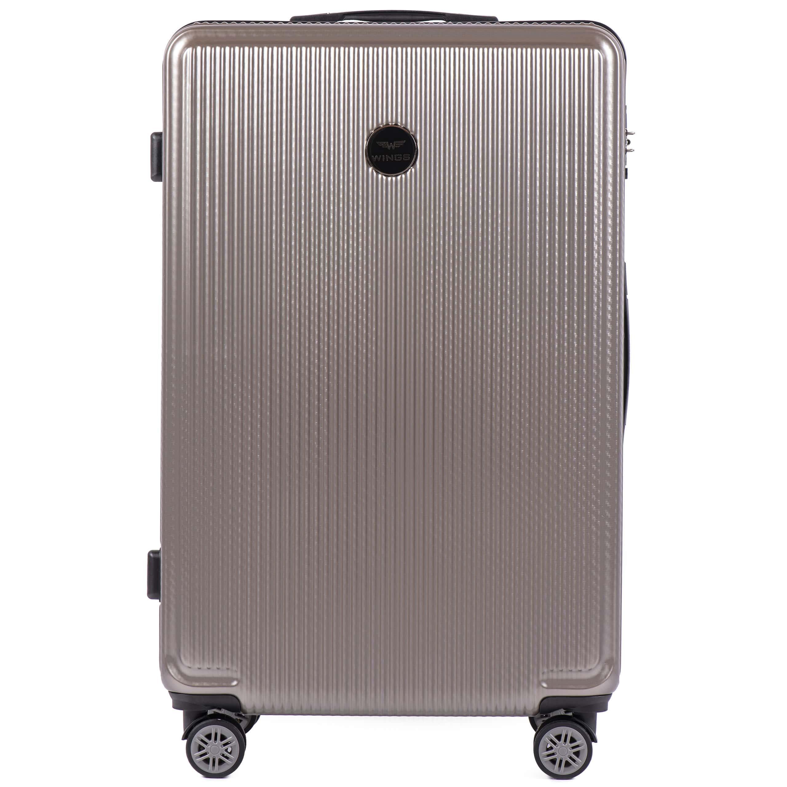 БОЛЬШОЙ ЧЕМОДАН WINGS PREMIUM 565 L BRONZE. Для багажа ,до 23 кг
