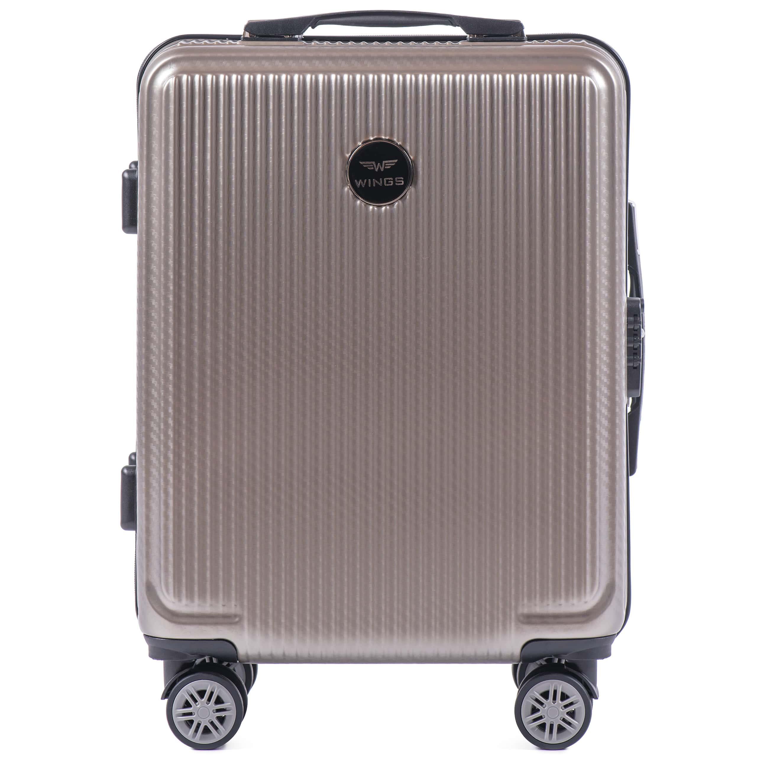 Valiza mica WINGS 565 S BRONZE PREMIUM. Pt bagaj de maina,pina la  7-10 kg