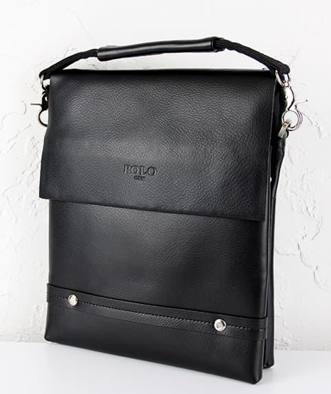Мужская сумка из исскуственной  кожи  POLO.309-3 Black
