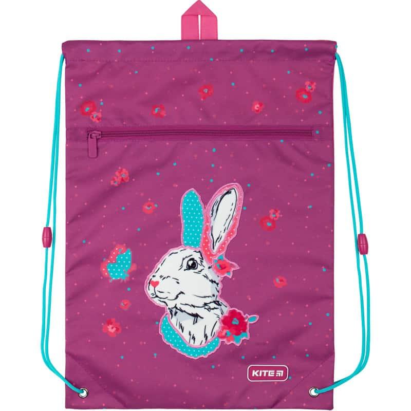 Сумка для обуви с карманом Kite Education Bunny K20-601M-7