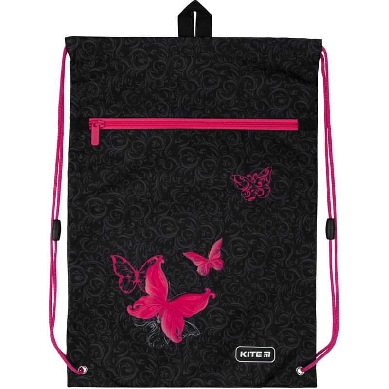 Сумка для обуви с карманом Kite Education Butterfly tale K20-601M-13