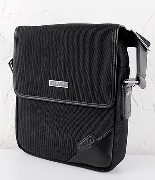 Мужская сумка из текстиля POLO 668-3 Brown