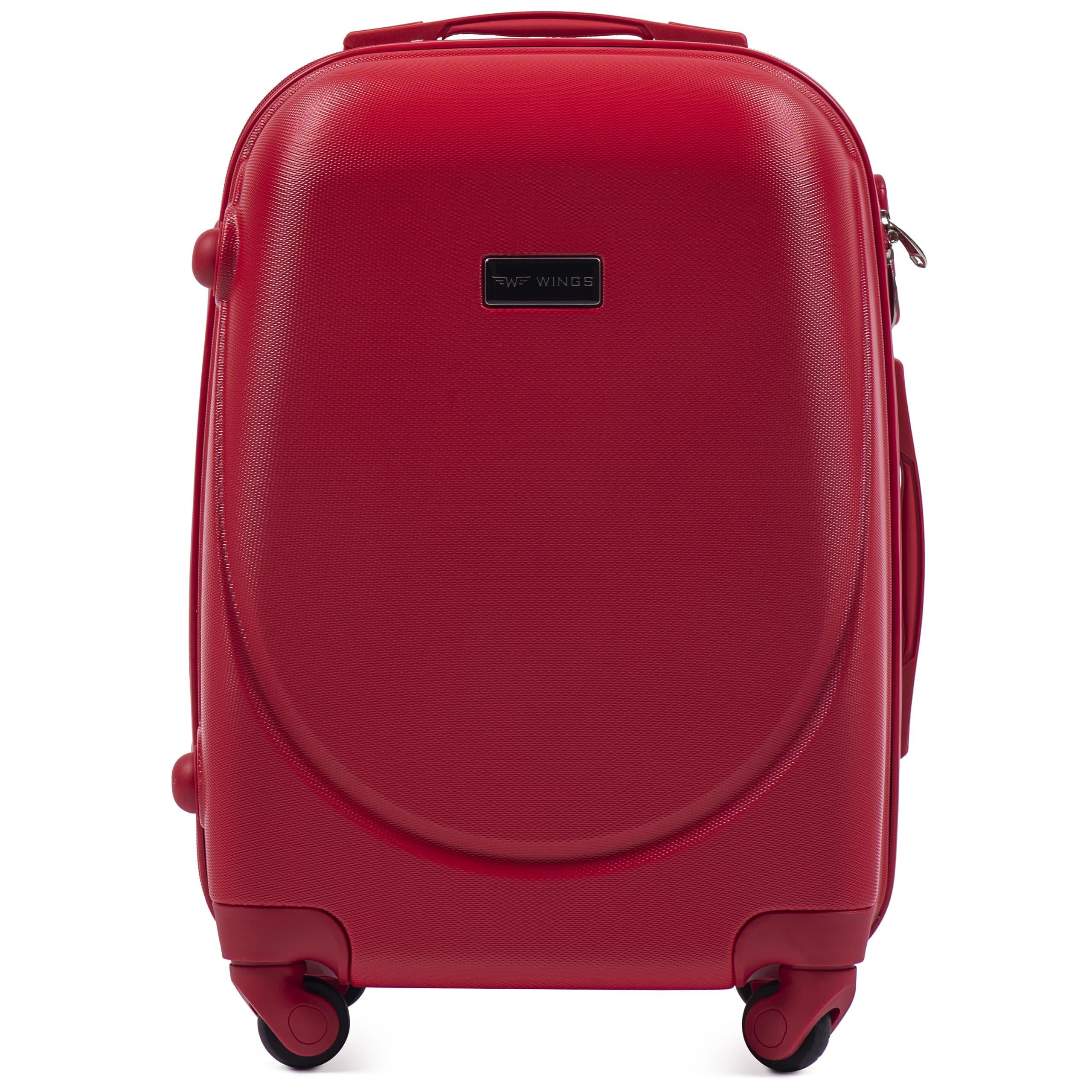Valiza mica WINGS 310 S PREMIUM pe 4 roti din cauciuc! Usor si Rezistent!Pt bagajul de maina,7-10 kg