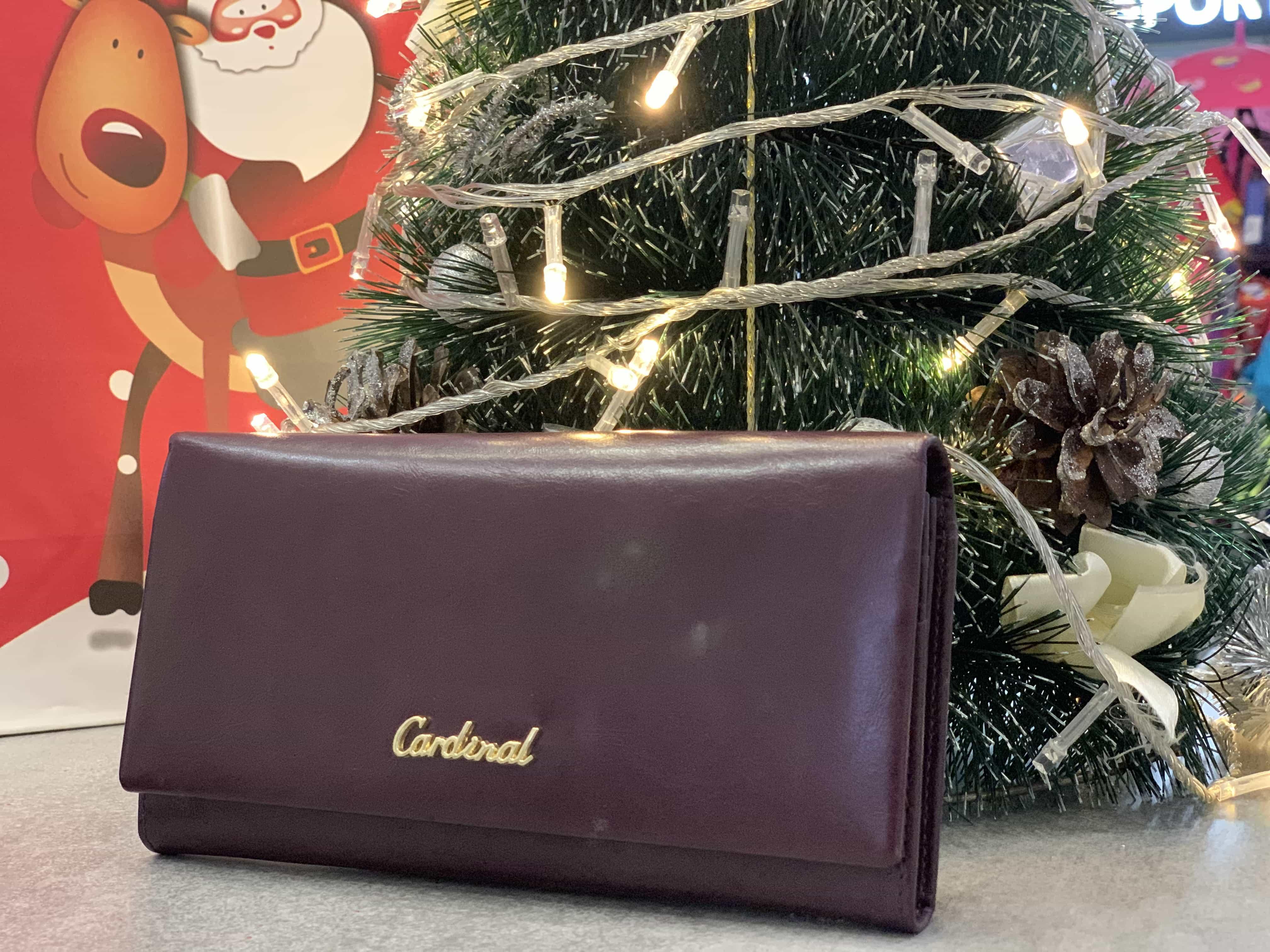Женский кожаный кошелек из натуральной кожи CARDINAL 5241#-2043