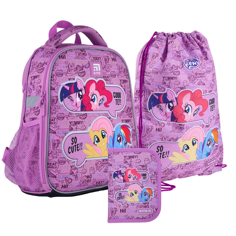 Школьный набор Kite  рюкзак пенал сумка SET_LP21-555S