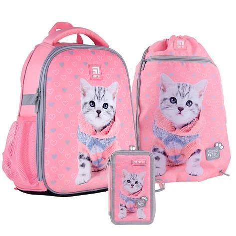 Школьный набор Kite  рюкзак пенал сумка SET_SP21-555S-2