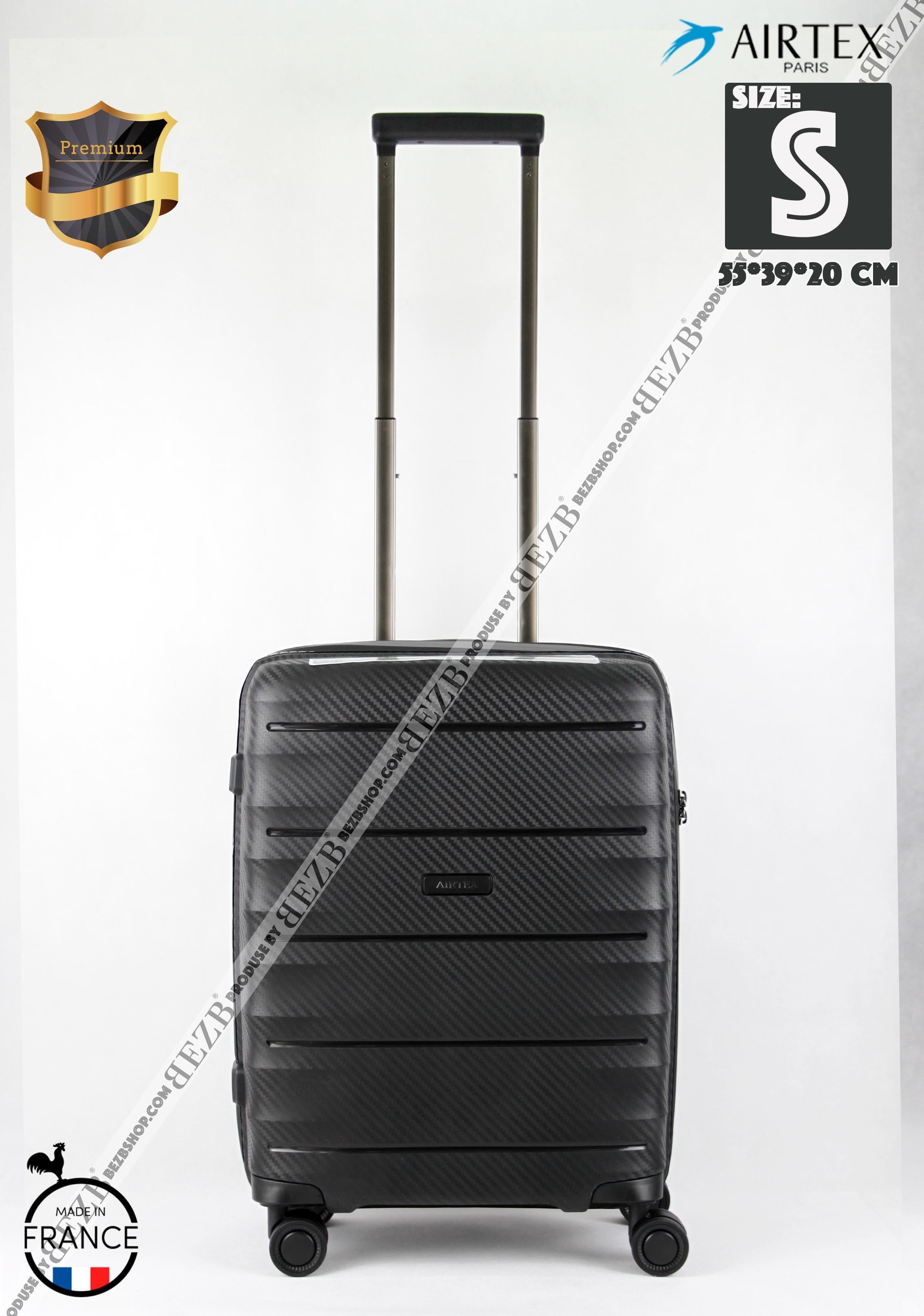 Ультралегкий чемодан,ручная кладь из полипропилена  на 4-х колесах Для ручной клади,до 7/10 кг