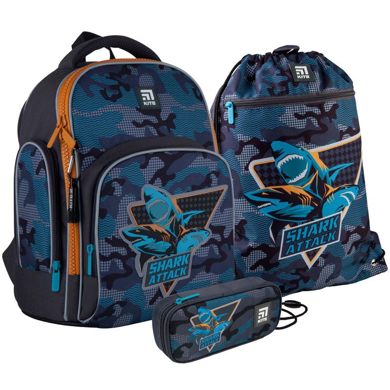 Школьный набор Kite.Ортопедический рюкзак пенал сумка SET_K21-706S-1