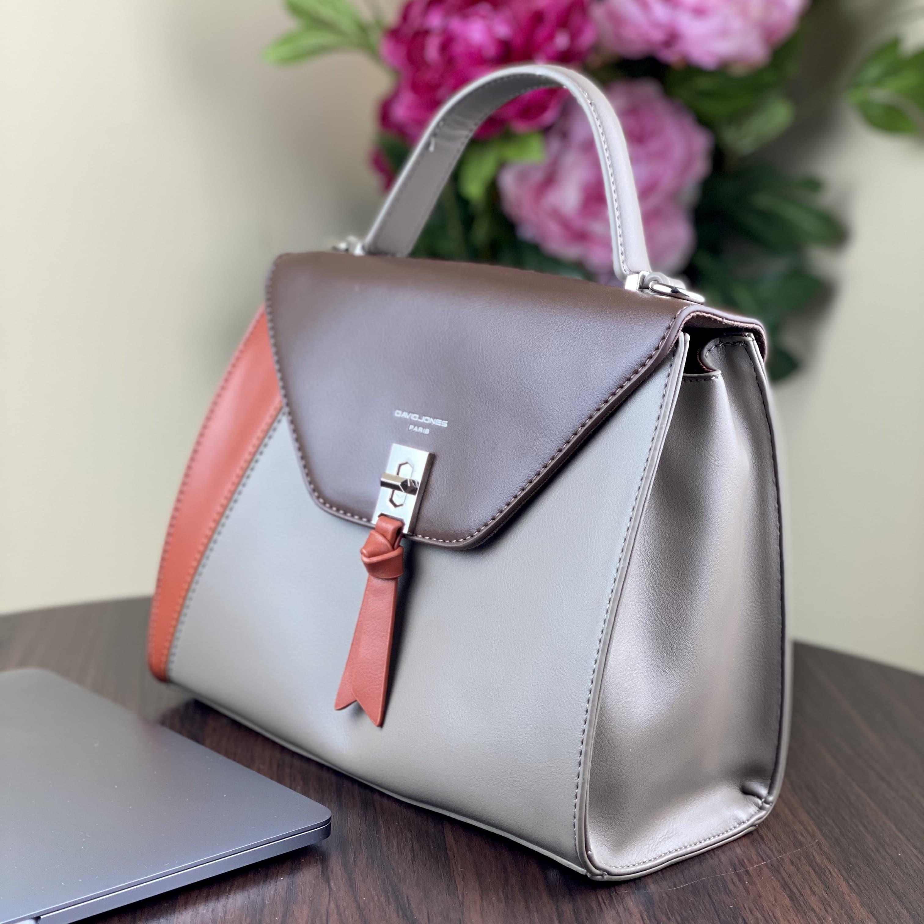 Женская сумка David Jones 6410-1T Taupe