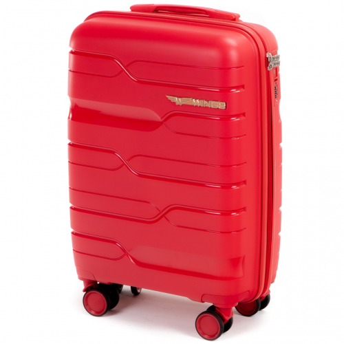 Маленький чемодан для ручной клади WINGS PP-08 S RED! ДЛЯ 7-10 кг!