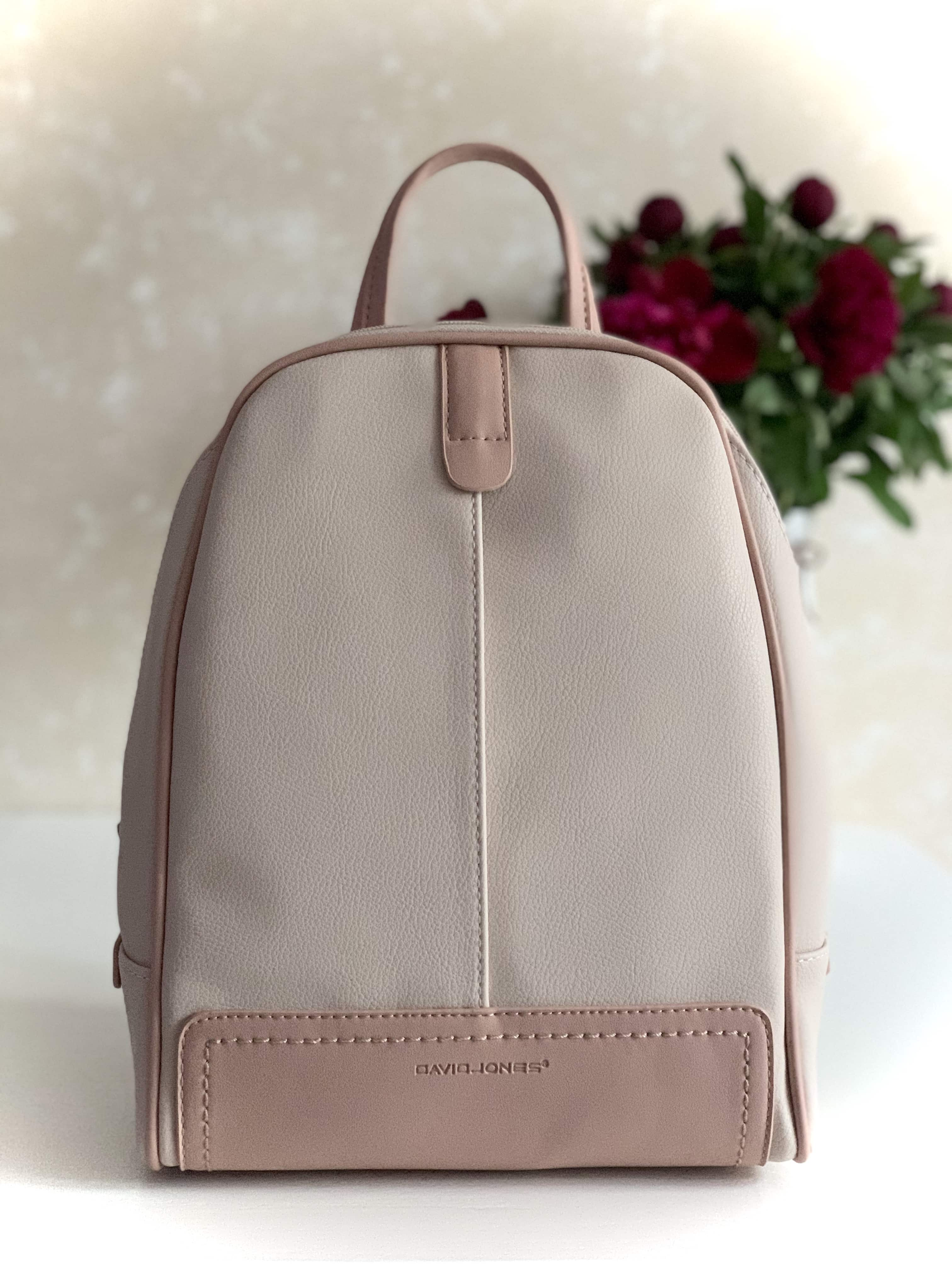 РЮКЗАК DAVID JONES CM5713T  LIGHT PINK