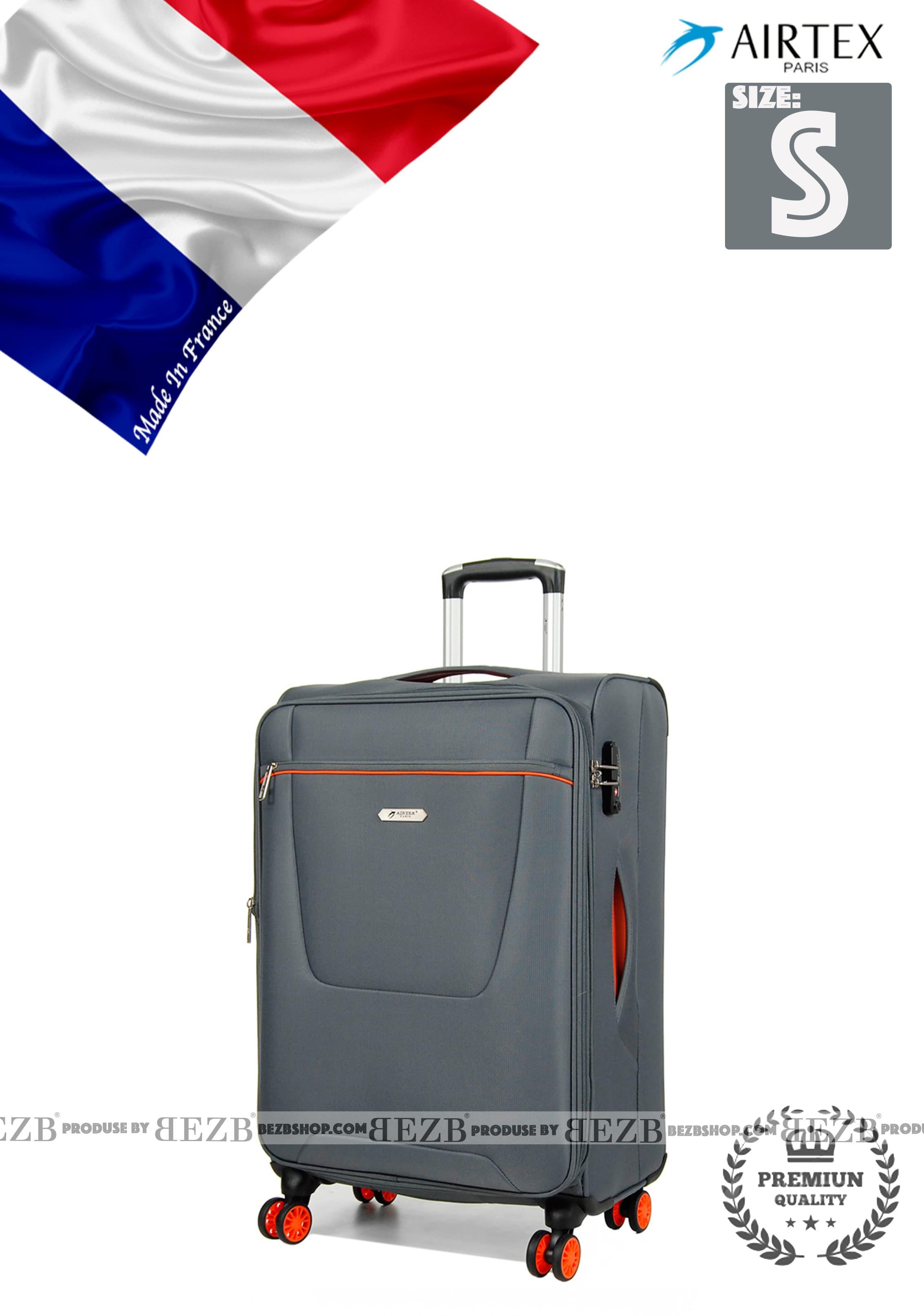 Ультра легкий малый тканевый чемодан под ручную кладь на 4-х кол. Для ручной клади,до 7/10 кг