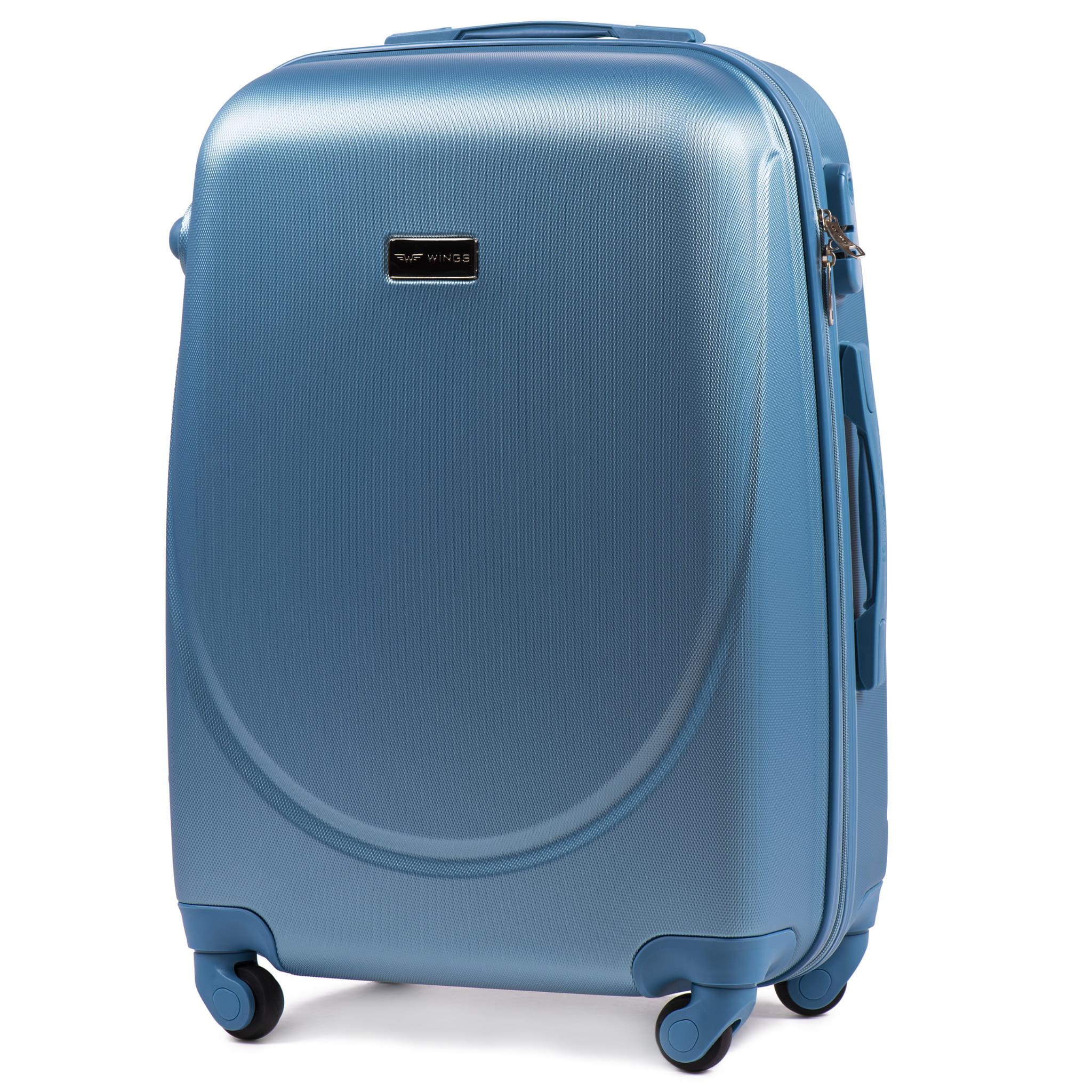 Большой Чемодан Wings 310 L  PREMIUM на 4-х каучуковых колесах!Для багажа ,до 23 кг