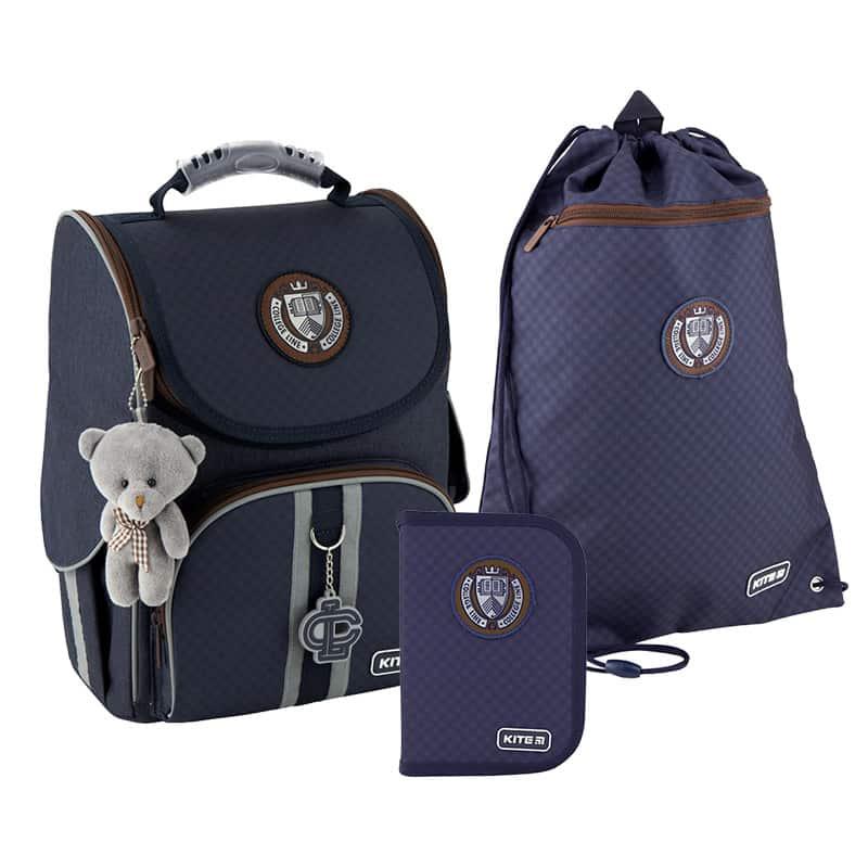 Школьный набор Kite.Ортопедический рюкзак пенал сумка SET_K20-501S-11