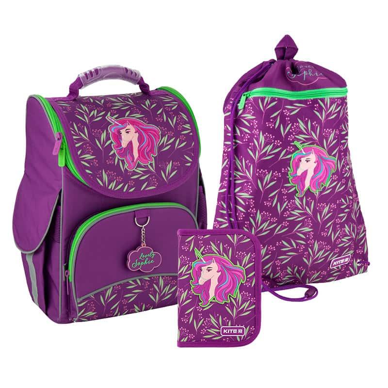 Школьный набор Kite.Ортопедический рюкзак пенал сумка SET_K20-501S-8