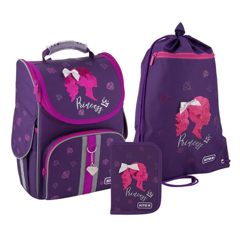 Школьный набор Kite.Ортопедический рюкзак пенал сумка SET_K20-501S-9