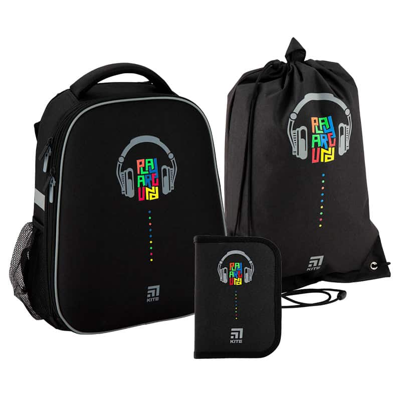 Школьный набор Kite.Ортопедический рюкзак пенал сумка SET_K20-531M-1