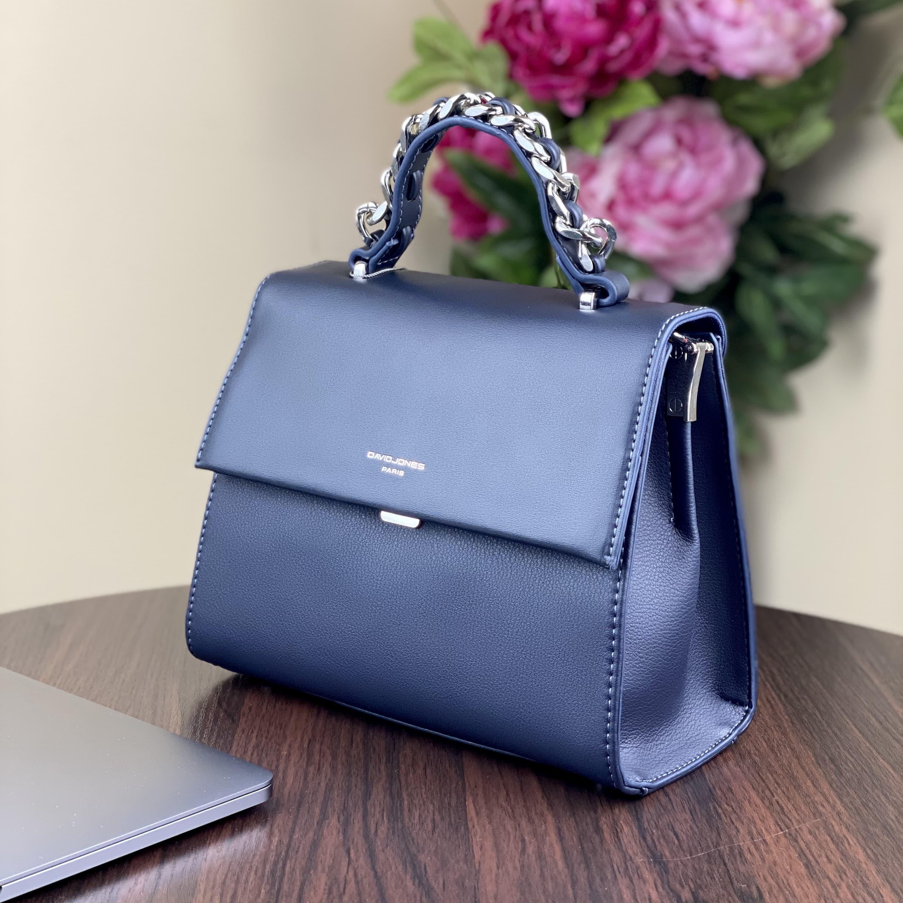 Женская сумка David Jones CM5488T D.Blue