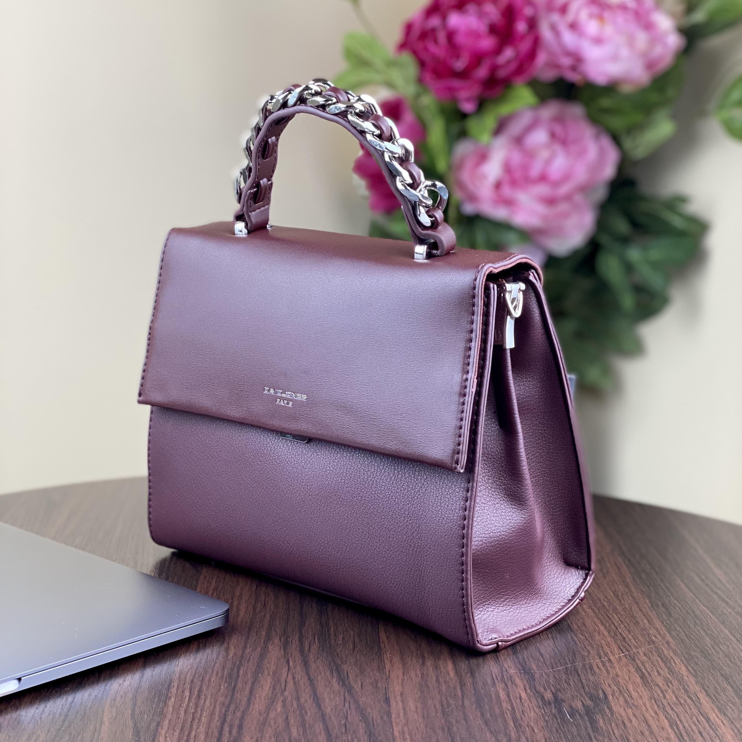 Женская сумка David Jones CM5488T D.Bordeaux