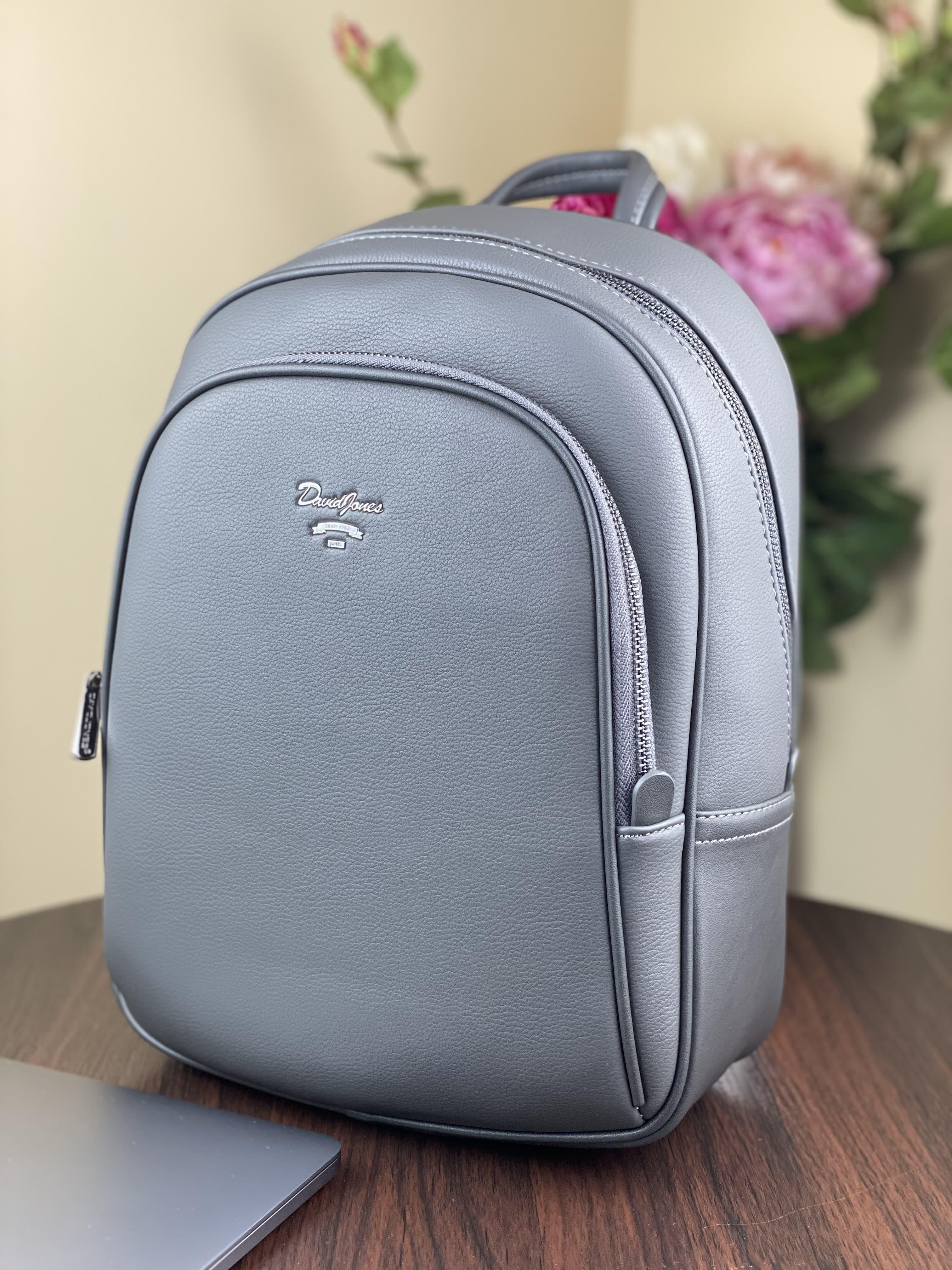 Женский рюкзак  David Jones CM5323T D.Grey