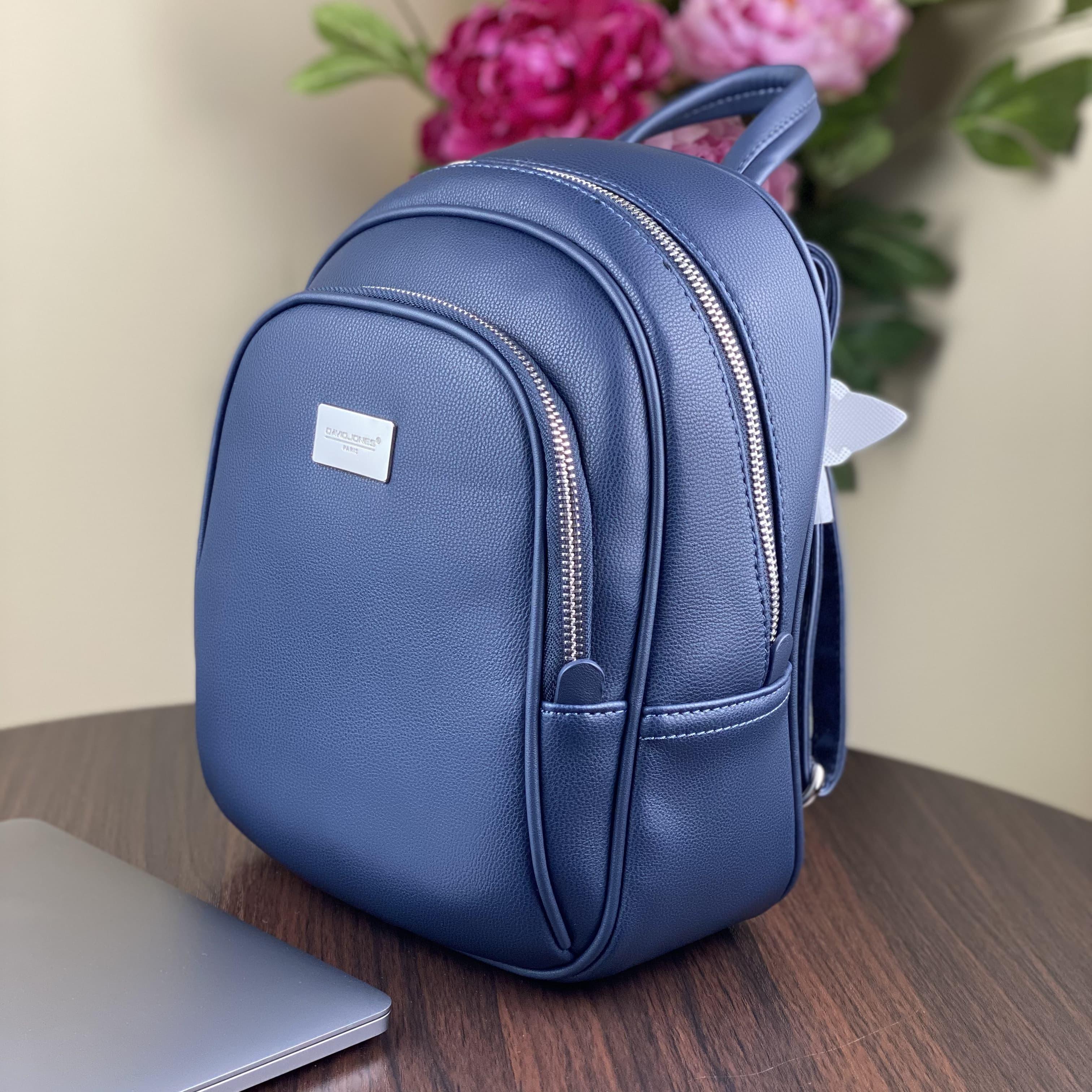Женский рюкзак David Jones CM3933T Blue