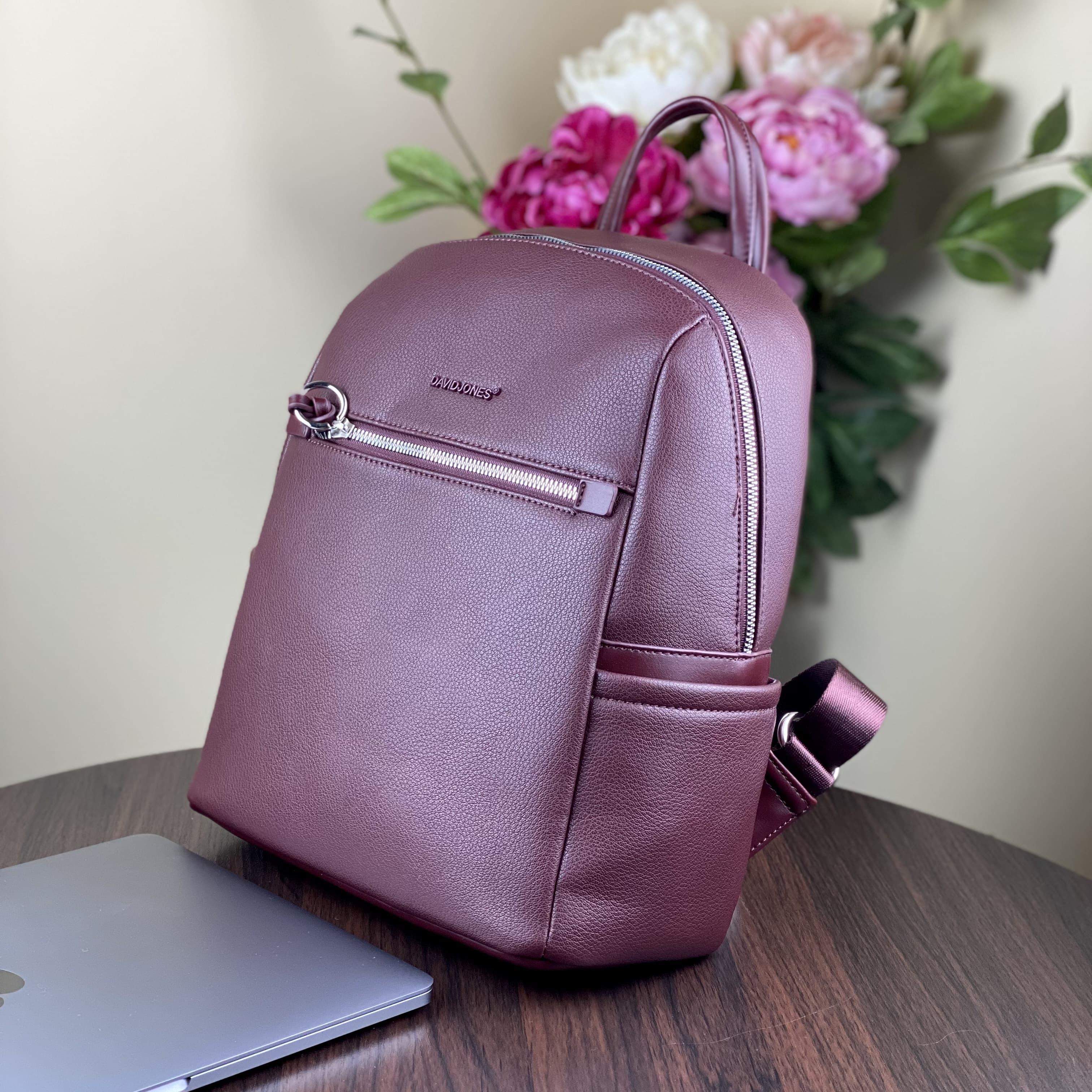 Женский рюкзак David Jones 6422-2T D.Bordeaux