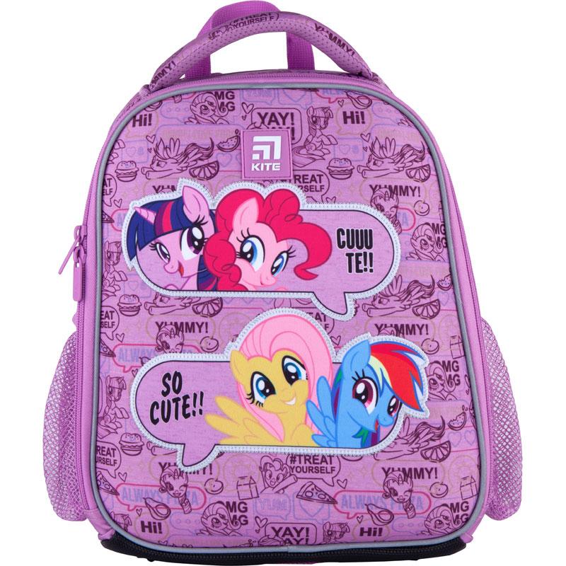Рюкзак школьный каркасный Kite Education My Little Pony LP21-555S