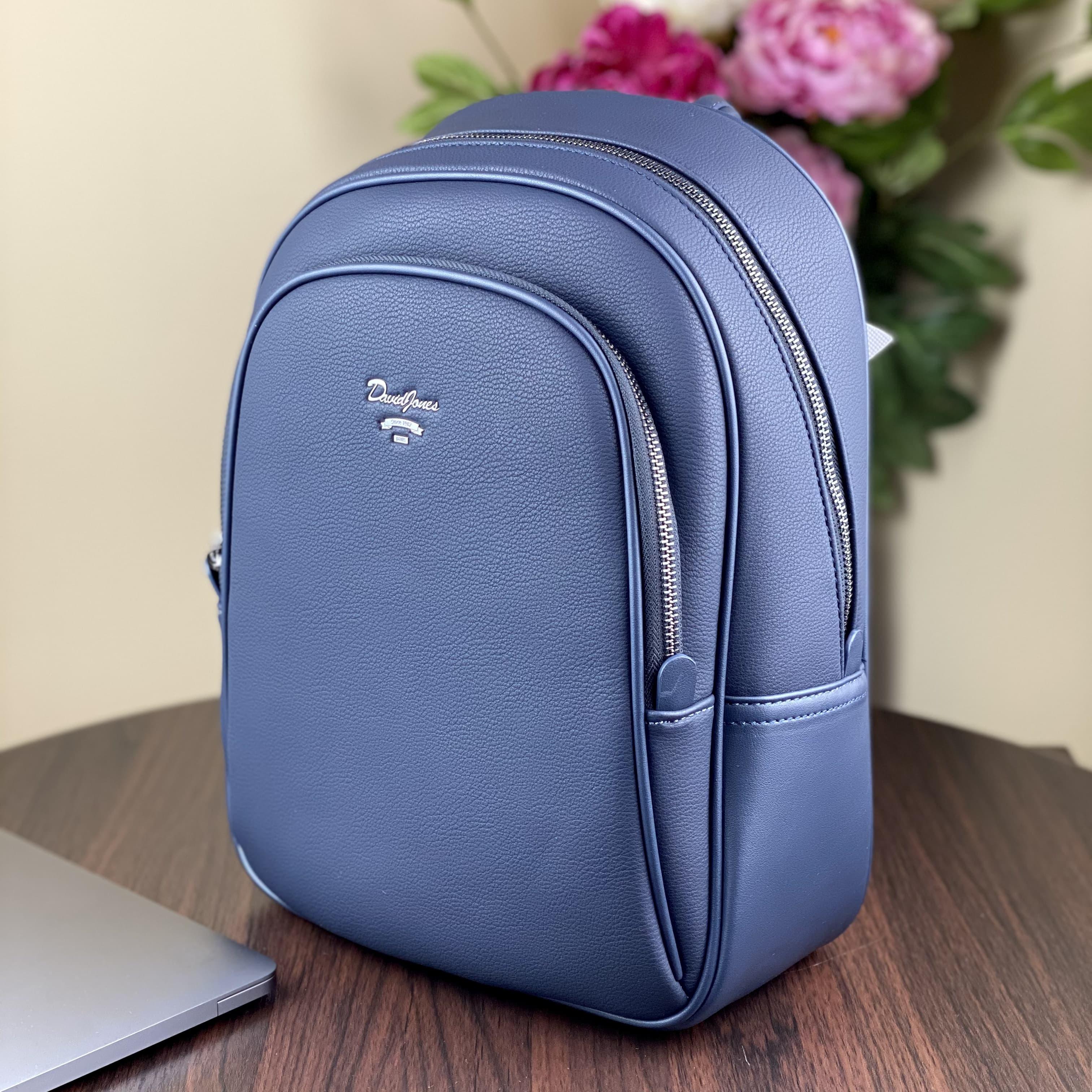 Женский рюкзак  David Jones CM5323T D.Blue