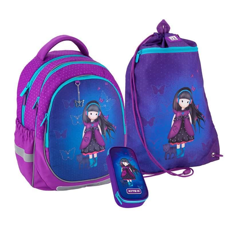 Школьный набор Kite.Ортопедический рюкзак пенал сумка SET_K20-700M-3