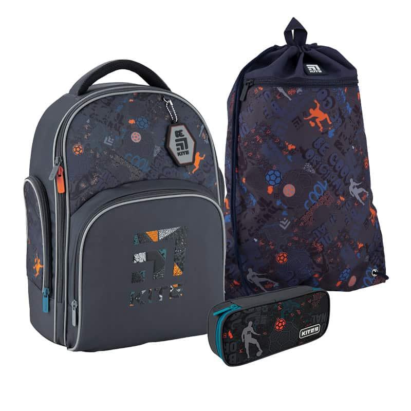 Школьный набор Kite.Ортопедический рюкзак пенал сумка SET_K20-706M-1