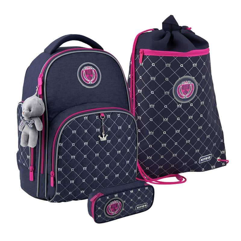 Школьный набор Kite.Ортопедический рюкзак пенал сумка SET_K20-706M-4