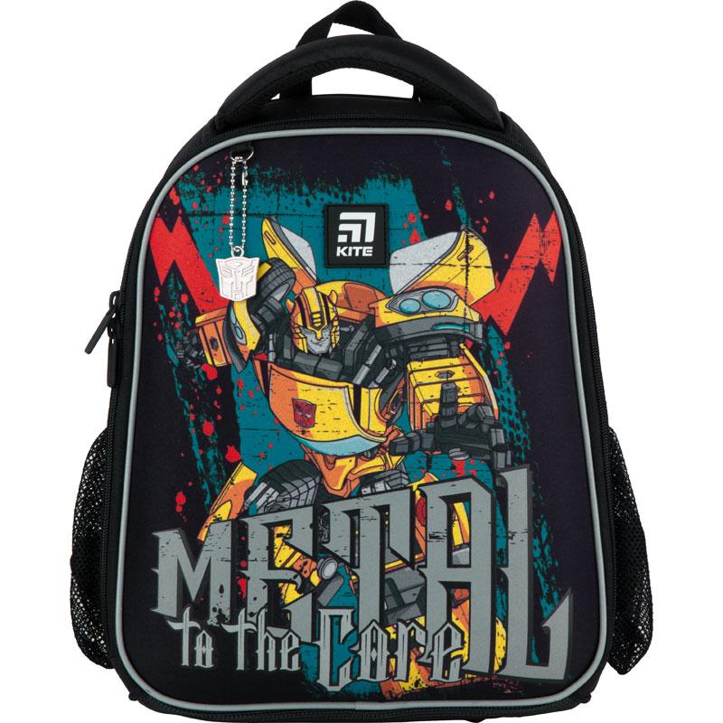 Рюкзак школьный каркасный Kite Education Transformers TF21-555S