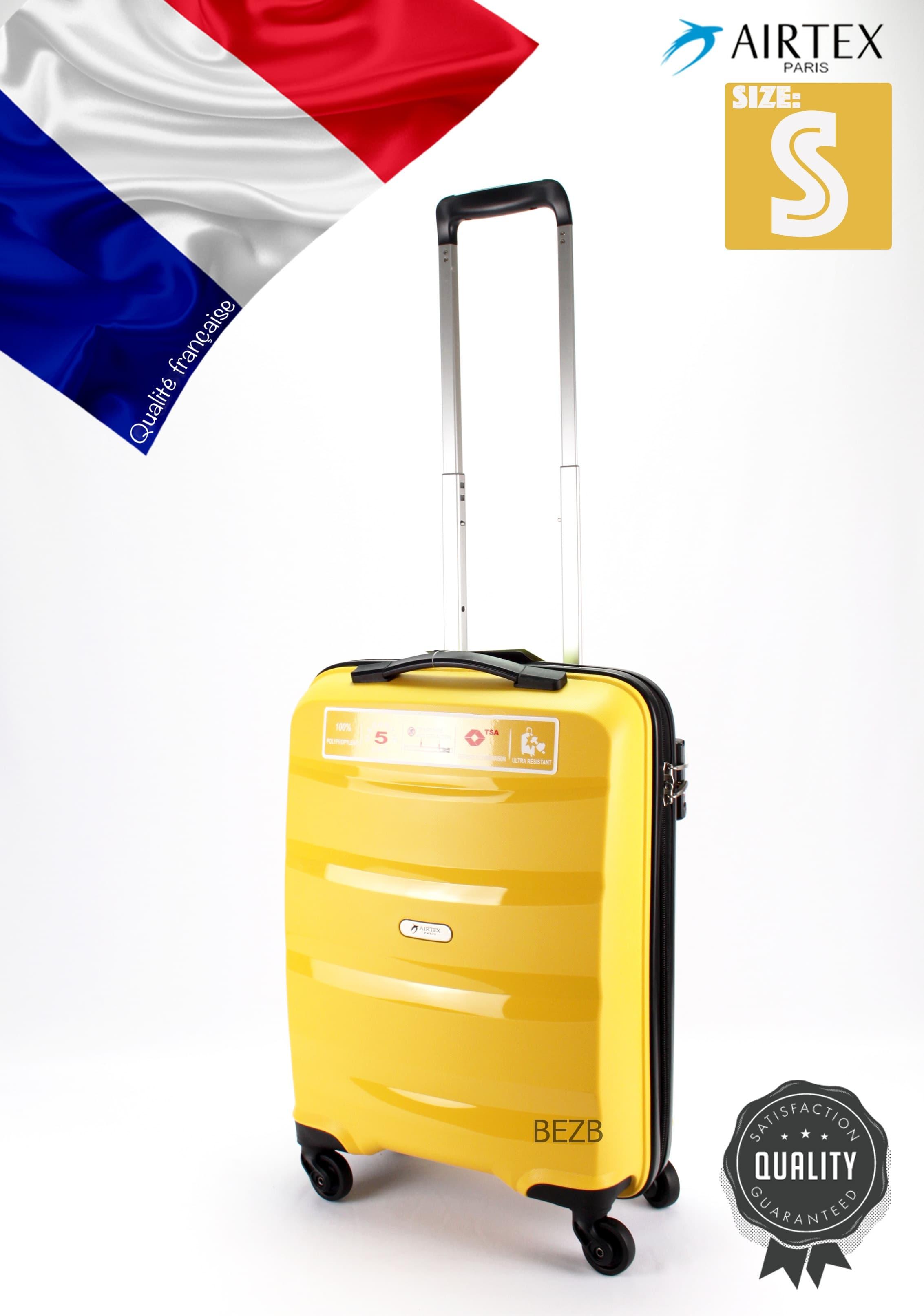 Valiza din polipropilena NEW STAR 229 S LIMON Pt bagajul de maina ,pina la 7/10 kg