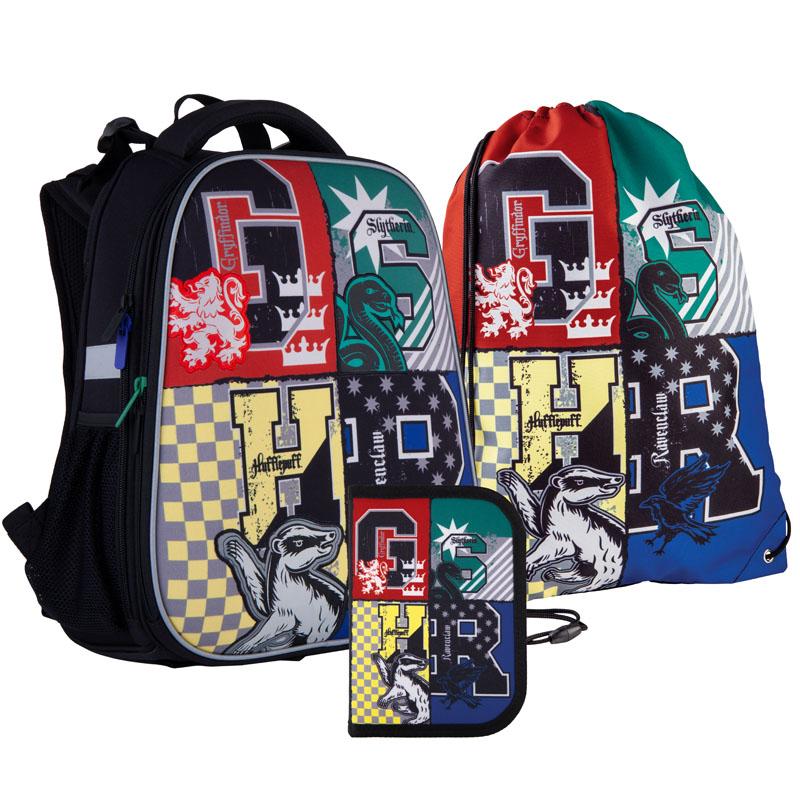 Школьный набор Kite.Ортопедический рюкзак пенал сумка SET_HP21-531M