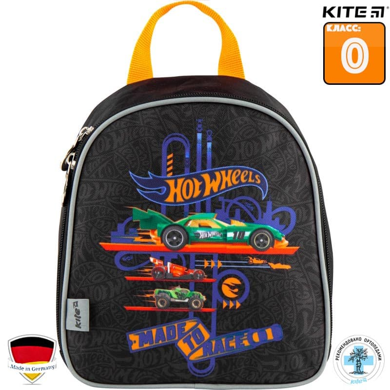 Ghiozdan prescolar Kite Hot Wheels HW18-538XXS