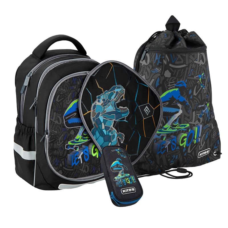 Школьный набор Kite.Ортопедический рюкзак пенал сумка SET_K20-700M(2p)-3