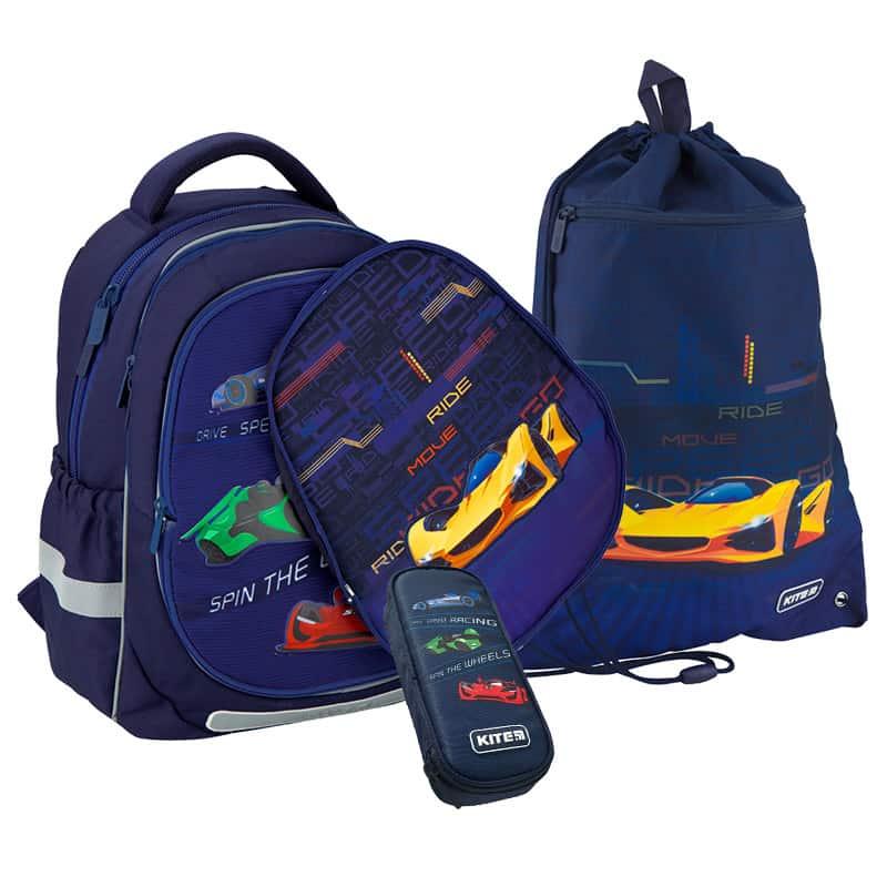 Школьный набор Kite.Ортопедический рюкзак пенал сумка SET_K20-700M(2p)-4