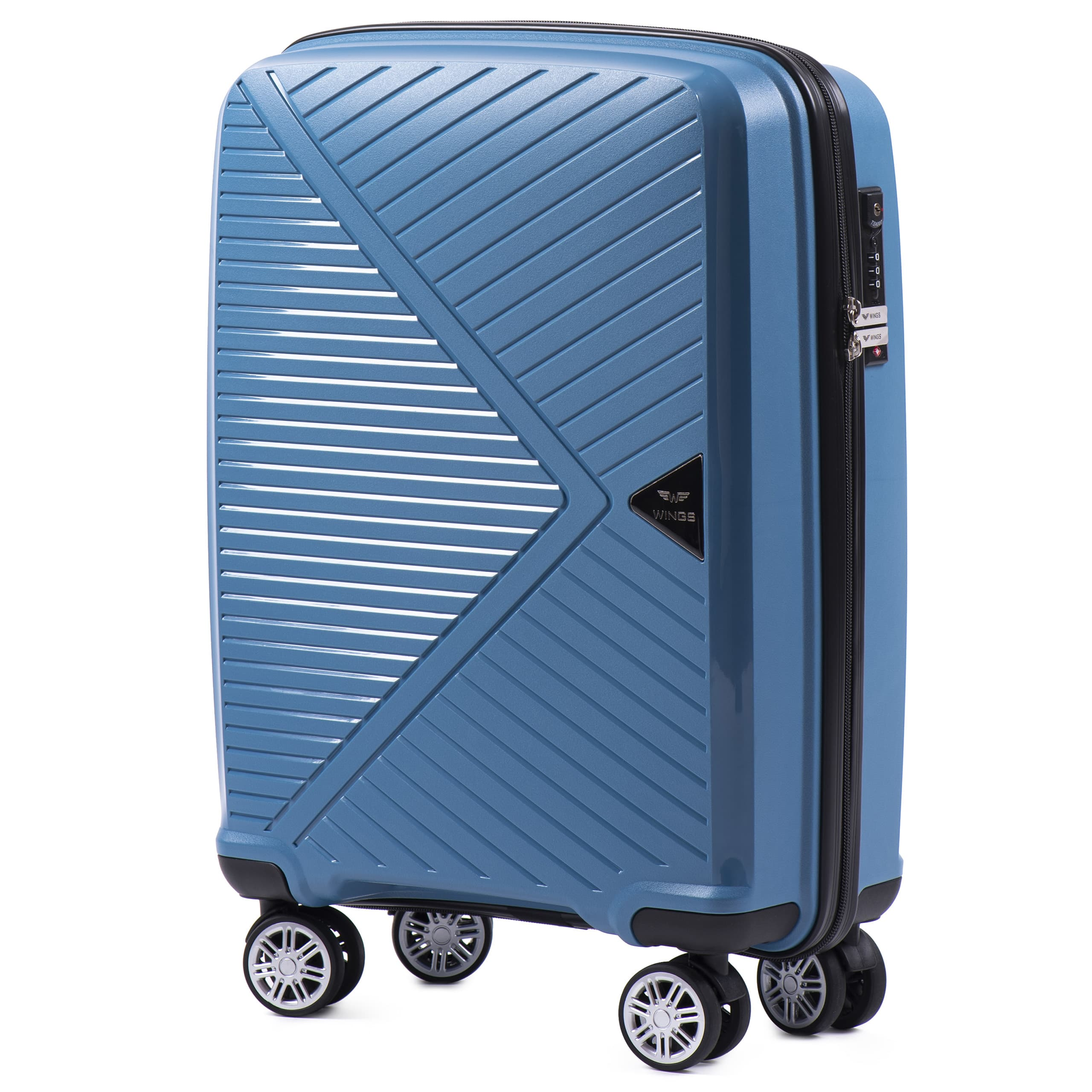 Valiza  din polipropilena pe 4 roti.Pt bagajul de maina ,pina la 7/10 kg