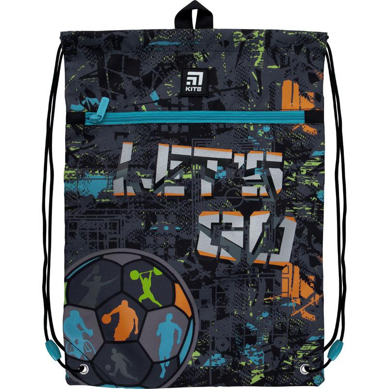 Сумка для обуви с карманом Kite Education K21-601M-10