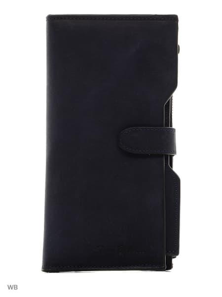 Мужской портмоне из натуральной кожи Tony Belluci .T350-03 Blue