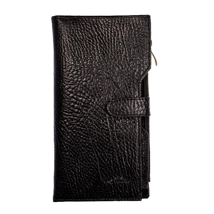 Мужской портмоне из натуральной кожи Tony Belluci .T350-893 black