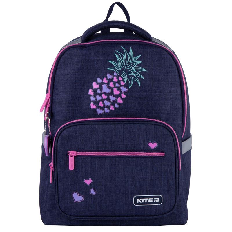 Школьный ортопедический рюкзак Kite Education Pineapple K21-770M-4