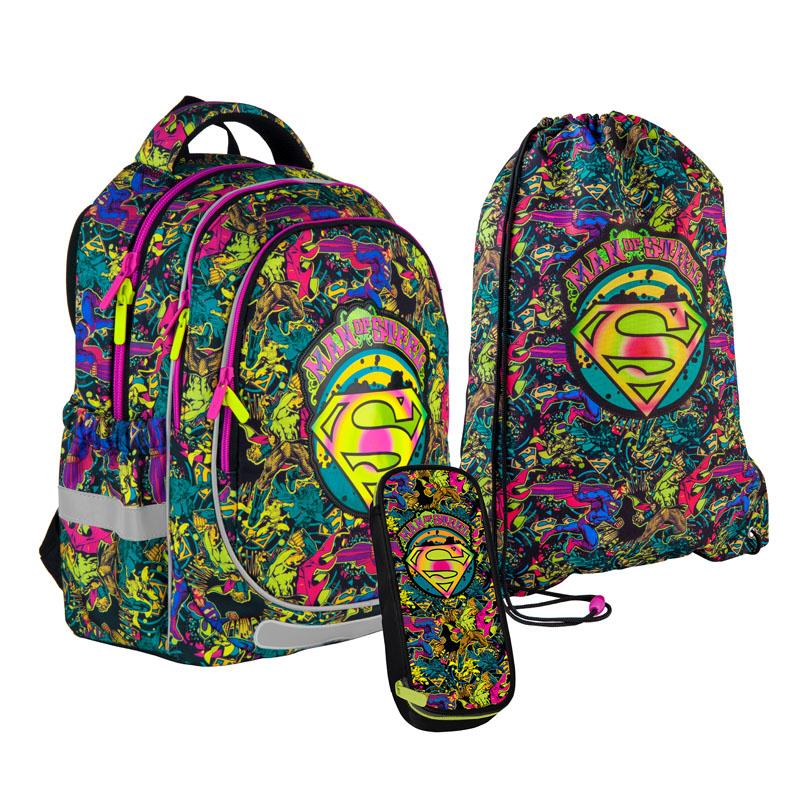 Школьный набор Kite.Ортопедический рюкзак пенал сумка SET_DC21-700M-2